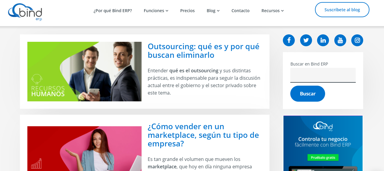 Bind Erp Blog