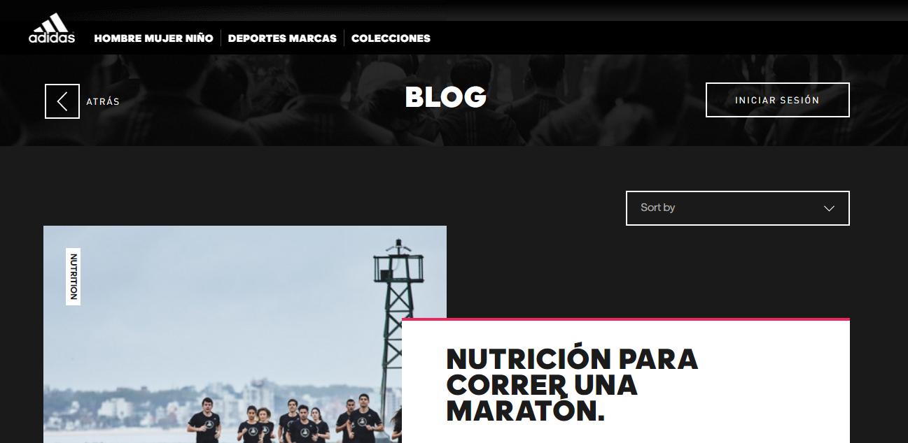 Blog Adidas
