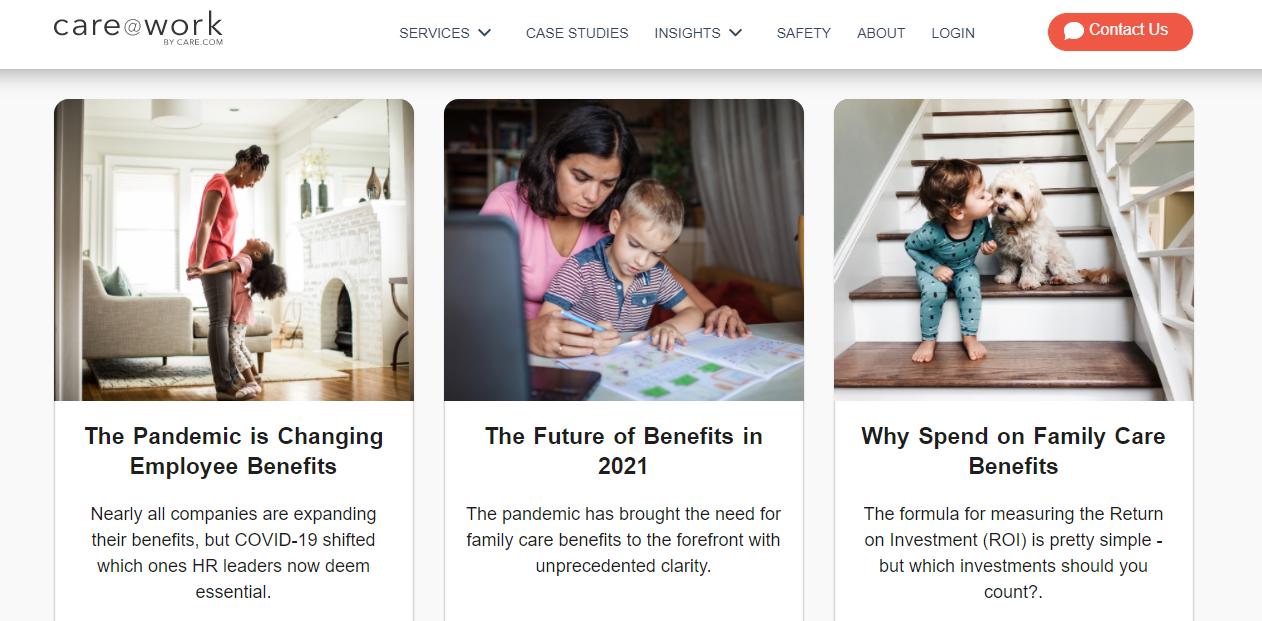 Care blog