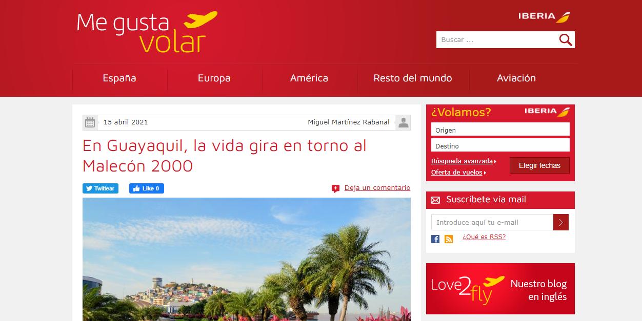 Iberia blog