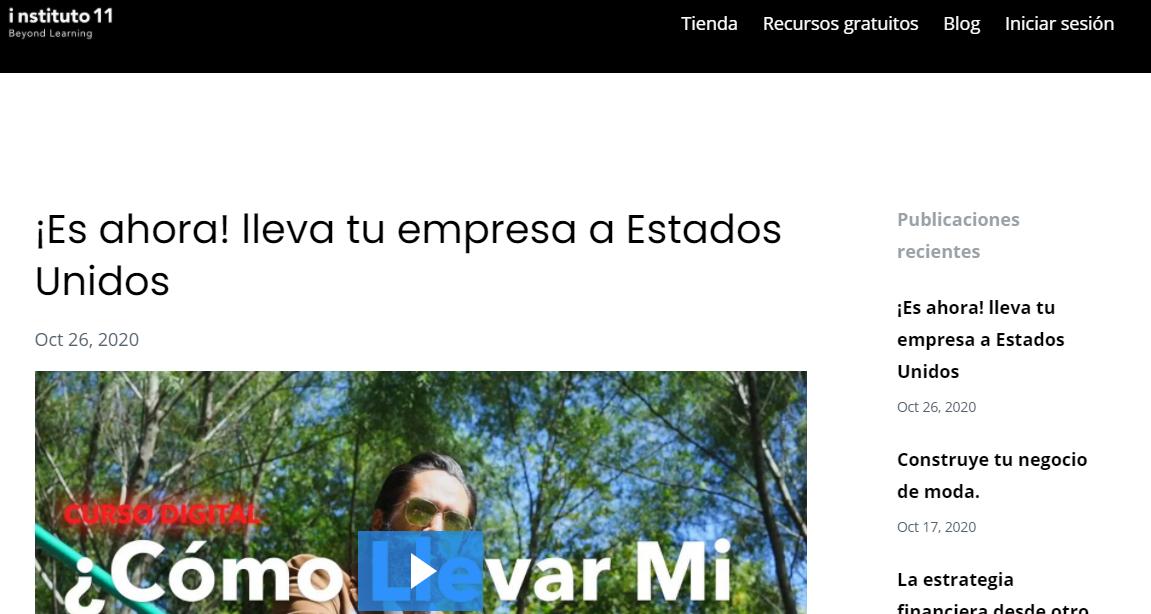 Instituto 11 blog