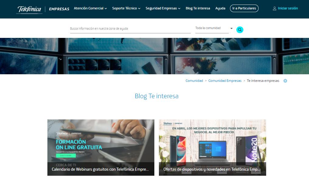 Movistar blog