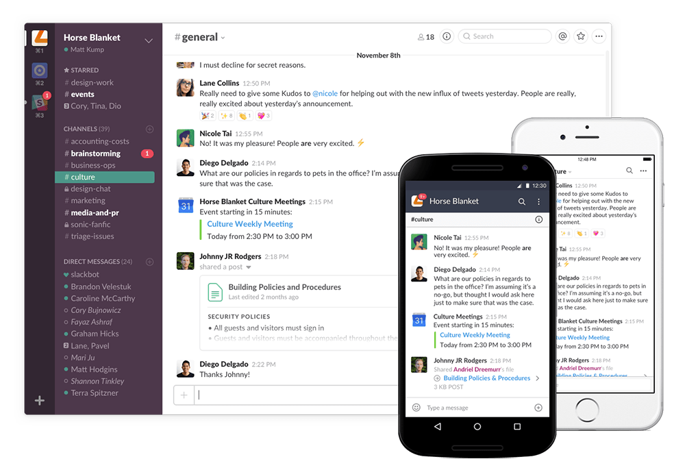 slack para home office