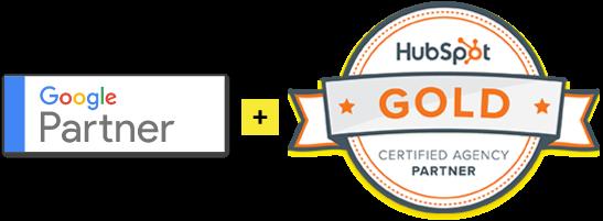 Agencia HubSpot Gold y Google Partner Certificada